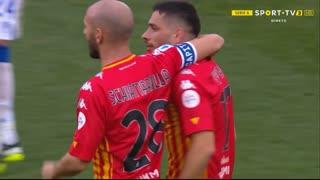 GOLO! Benevento, G. Caprari aos 55', Benevento 1-0 Sampdoria