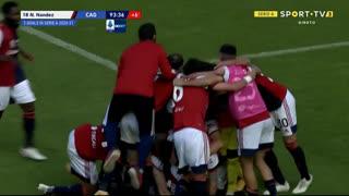 GOLO! Cagliari, N. Nández aos 90'+4', Napoli 1-1 Cagliari