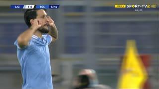 GOLO! Lazio, Luis Alberto aos 54', Lazio 1-1 Bologna