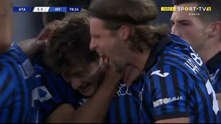 GOLO! Atalanta, Al. Miranchuk aos 79', Atalanta 1-1 Internazionale