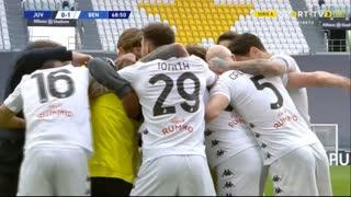 GOLO! Benevento, A. Gaich aos 69', Juventus 0-1 Benevento
