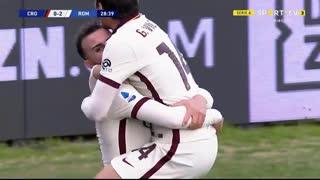 GOLO! Roma, Borja Mayora aos 29', Crotone 0-2 Roma