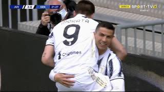 GOLO! Juventus, Álvaro Morata aos 22', Juventus 2-0 Genoa