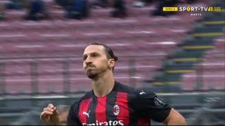 GOLO! Milan, Ibrahimovic aos 16', Internazionale 0-2 Milan