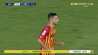 GOLO! Benevento, G. Caprari aos 76', Benevento 2-5 Internazionale