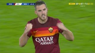 GOLO! Roma, J. Veretout aos 69', Roma 3-2 Benevento
