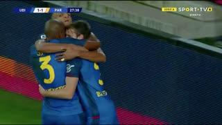 GOLO! Udinese, Samir aos 28', Udinese 1-1 Parma