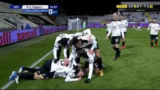 GOLO! Spezia, G. Maggiore aos 56', Spezia 1-0 Milan