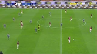 Serie A (34ª Jornada): Resumo Milan 2-0 Benevento