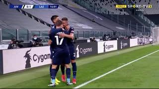 GOLO! Lazio, J. Correa aos 14', Juventus 0-1 Lazio