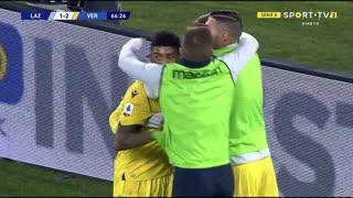 GOLO! Verona, A. Tameze aos 67', Lazio 1-2 Verona