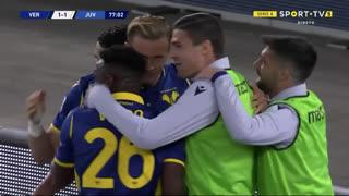 GOLO! Verona, A. Barák aos 77', Verona 1-1 Juventus