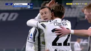 GOLO! Juventus, F. Chieza aos 71', Juventus 2-0 Spezia