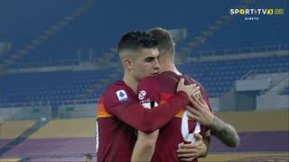 GOLO! Roma, E. Džeko aos 71', Roma 2-1 Cagliari
