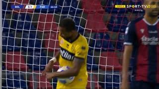 GOLO! Parma, Hernani aos 67', Bologna 3-1 Parma
