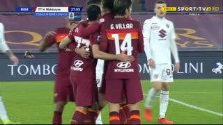 Serie A (12ª Jornada): Resumo Roma 3-1 Torino