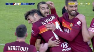 GOLO! Roma, H. Mkhitaryan aos 32', Roma 2-0 Parma
