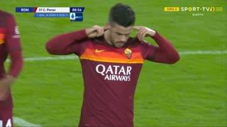 GOLO! Roma, Carles Pérez aos 89', Roma 5-2 Benevento