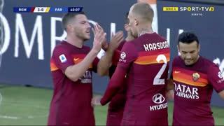 GOLO! Roma, H. Mkhitaryan aos 40', Roma 3-0 Parma