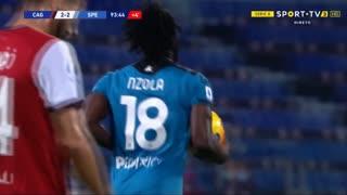 GOLO! Spezia, N'Zola aos 90'+4', Cagliari 2-2 Spezia