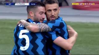 GOLO! Internazionale, A. Sánchez aos 26', Internazionale 2-0 Sampdoria