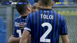 GOLO! Atalanta, L. Muriel aos 43', Atalanta 2-0 Udinese