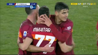 GOLO! Roma, H. Mkhitaryan aos 22', Roma 2-0 Verona