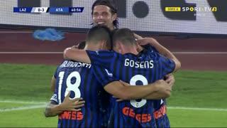 GOLO! Atalanta, A. Gómez aos 41', Lazio 0-3 Atalanta