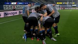 GOLO! Atalanta, L. Muriel aos 72', Atalanta 3-1 Roma