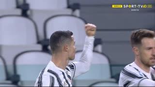 GOLO! Juventus, Cristiano Ronaldo aos 45'+1', Juventus 2-0 Crotone