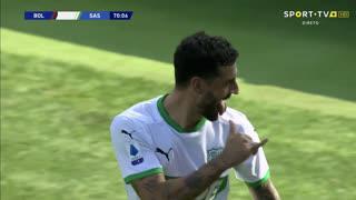 GOLO! Sassuolo, F. Caputo aos 70', Bologna 3-3 Sassuolo
