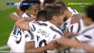 GOLO! Juventus, Alex Sandro aos 47', Juventus 2-1 Parma