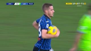 GOLO! Atalanta, M. Pašalić aos 79', Atalanta 1-2 Lazio