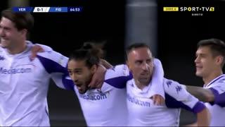 GOLO! Fiorentina, M. Cáceres aos 65', Verona 0-2 Fiorentina