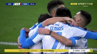 GOLO! Napoli, D. Mertens aos 81', Napoli 3-0 Roma