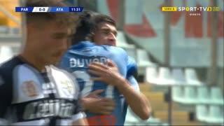 GOLO! Atalanta, R. Malinovskiy aos 12', Parma 0-1 Atalanta