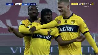 GOLO! Parma, Y. Gervinho aos 10', Genoa 0-1 Parma