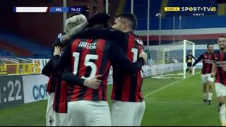 GOLO! Milan, Samu Castillejo aos 77', Sampdoria 0-2 Milan