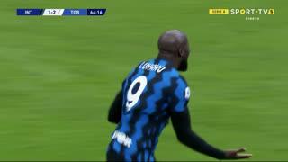 GOLO! Internazionale, Lyanco (p.b.) aos 67', Internazionale 2-2 Torino