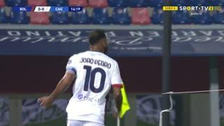 GOLO! Cagliari, João Pedro Galvão aos 15', Bologna 0-1 Cagliari