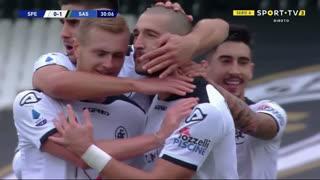 GOLO! Spezia, A. Galabinov aos 30', Spezia 1-1 Sassuolo