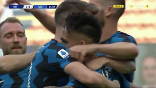 GOLO! Internazionale, L. Martínez aos 55', Internazionale 3-0 Udinese
