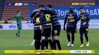 GOLO! Internazionale, L. Martínez aos 57', Internazionale 2-0 Benevento