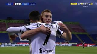 GOLO! Juventus, Cristiano Ronaldo aos 32', Cagliari 0-3 Juventus