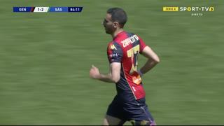 GOLO! Genoa, D. Zappacosta aos 85', Genoa 1-2 Sassuolo