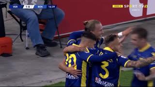 GOLO! Verona, A. Barák aos 17', Verona 1-0 Benevento
