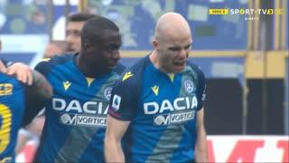 GOLO! Udinese, B. Nuytinck aos 80', Parma 2-2 Udinese