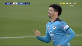 GOLO! Spezia, Diego Farias aos 59', Roma 3-2 Spezia