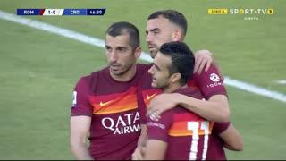 GOLO! Roma, Borja Mayoral aos 47', Roma 1-0 Crotone