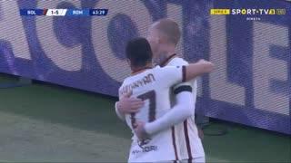 GOLO! Roma, H. Mkhitaryan aos 44', Bologna 1-6 Roma